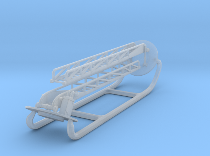 Seagrave Ladders 1:160 3d printed