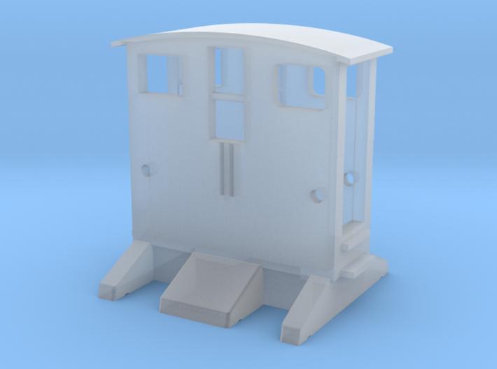 BREUER Rangiertraktor 1:160 Spur N Scale 3d printed BREUER Rangiertraktor