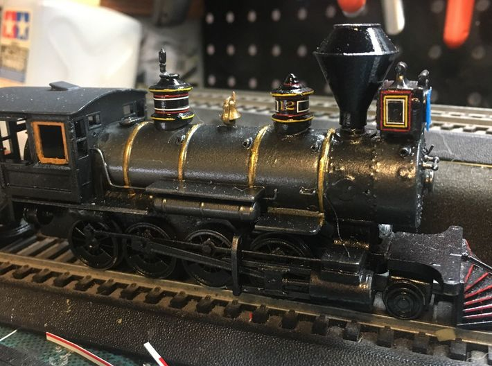 HO Scale C K  Holliday Style Details