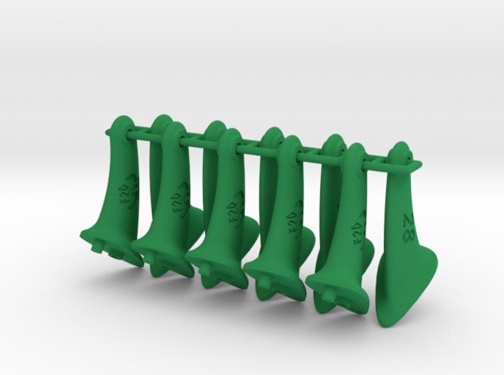 10 pcs. 28mm F2D Control Horn - v2.1 3d printed