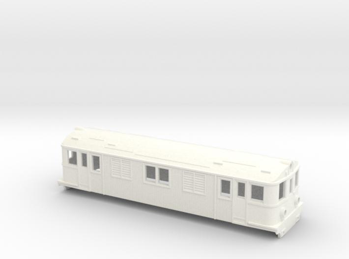Swedish SJ electric locomotive type D - H0-scale 3d printed