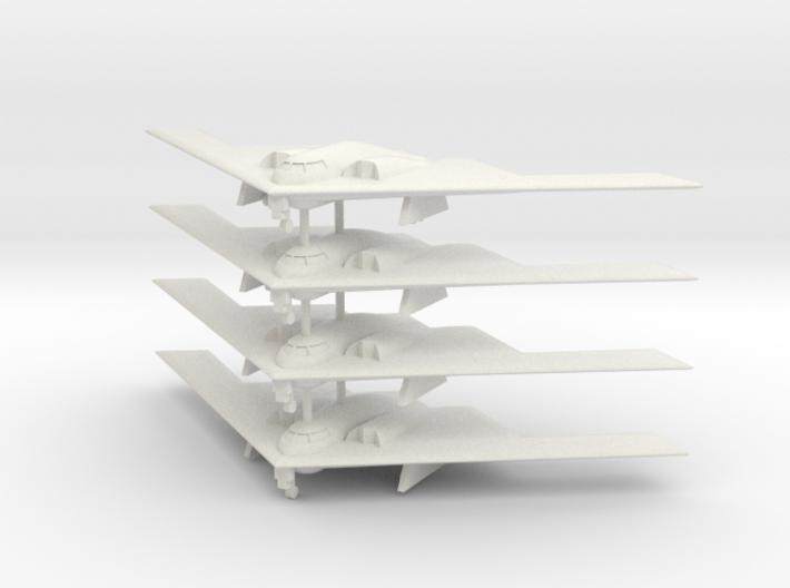 1/500 B-2 Spirit (Landing Gear Down) (x4) 3d printed