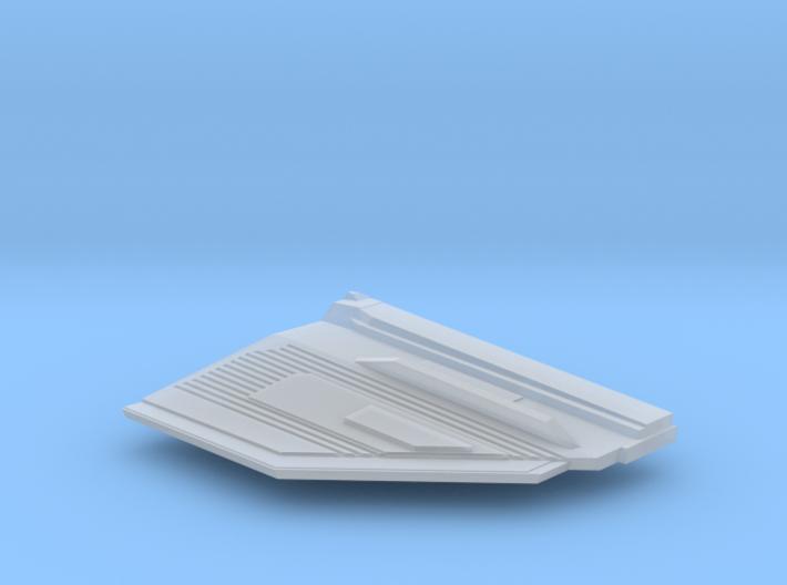 1/1000 Malachowski class - Left Upper Stern 3d printed