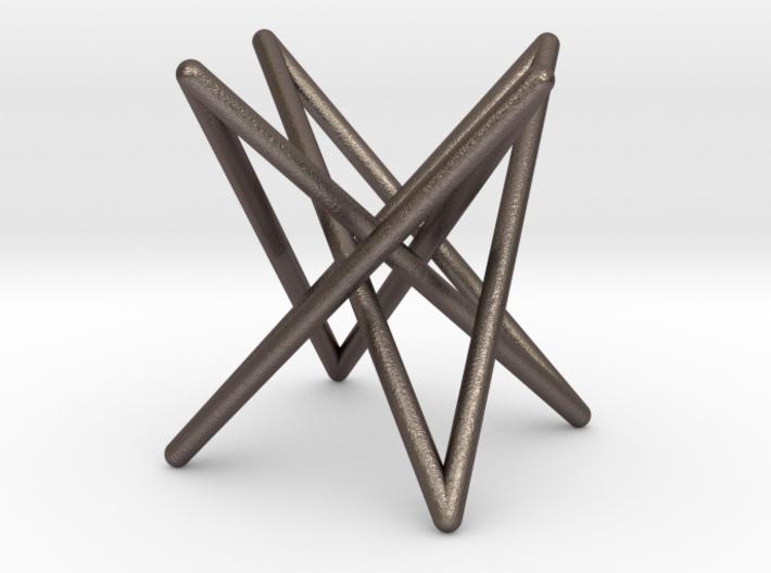 Steel Hyperboloid Stick Knot 3d printed