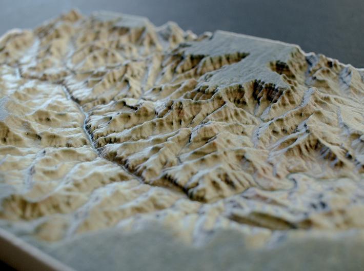 Grand Canyon, Arizona, USA, 1:150000 Explorer 3d printed