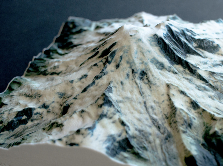 Mt. Rainier, Washington, USA, 1:75000 Explorer 3d printed