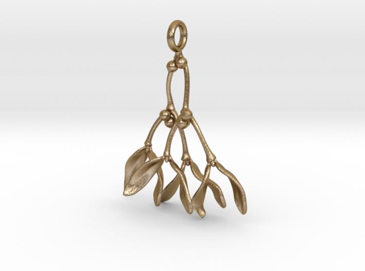 Mistletoe Pendant 3d printed