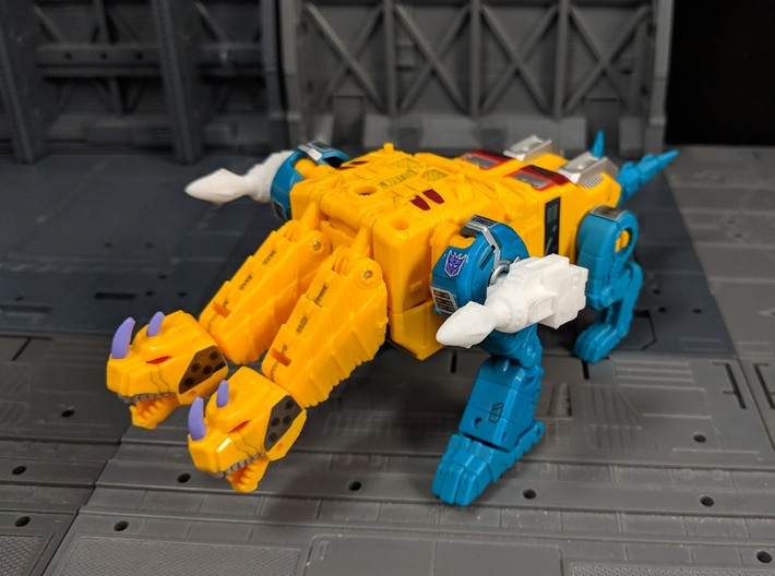 TF Weapon G1 style Magnus Missile Add On 3d printed