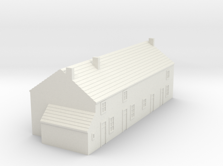 1/350 Village House 2 3d printed