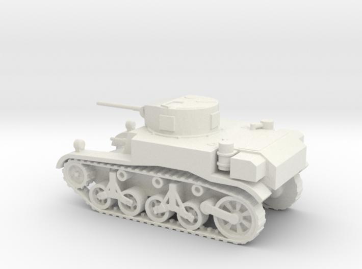 1/72 Scale M3A1 Light Tank 3d printed