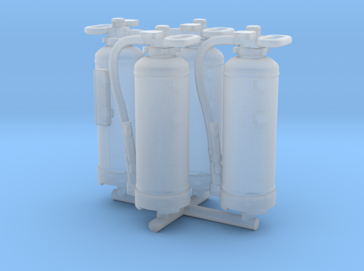Fire extinguisher - 1:50 - 4X 3d printed