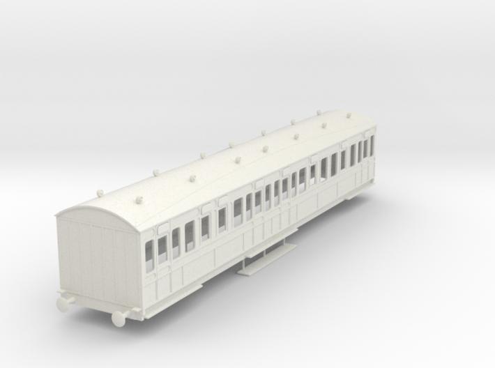 o-32-rhymney-railway-3rd-two-open-saloon-coach 3d printed