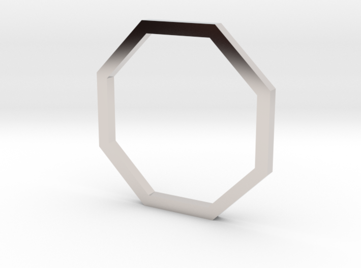 Octagon 13.21mm 3d printed