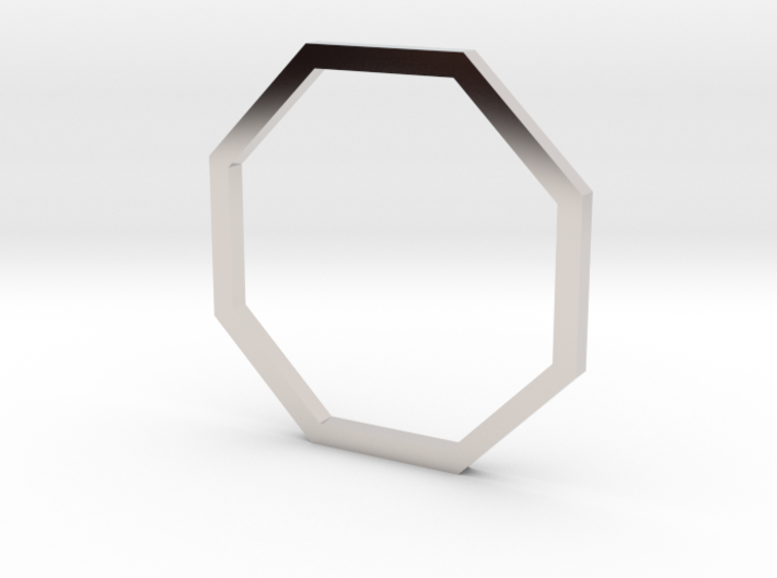 Octagon 15.27mm 3d printed