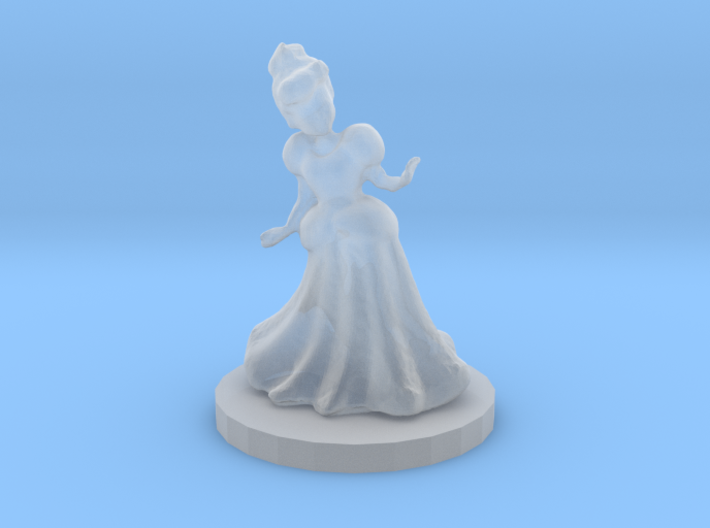 Princess (28mm Scale Miniature) 3d printed