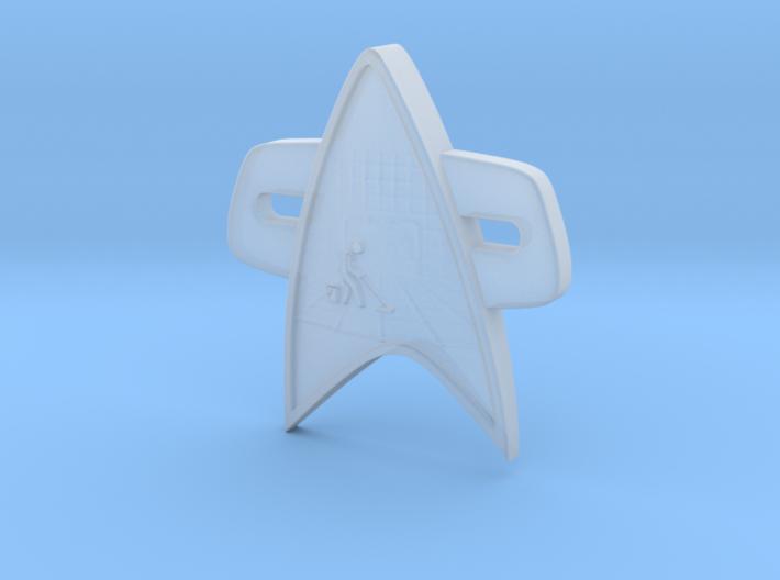 Jizz Mop Corps Badge 3d printed