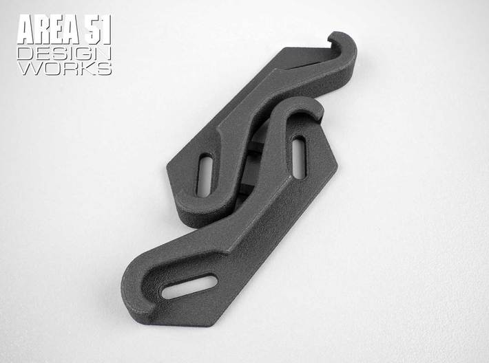 RC8B3 FT Graphite Shock Tower Cover 3d printed