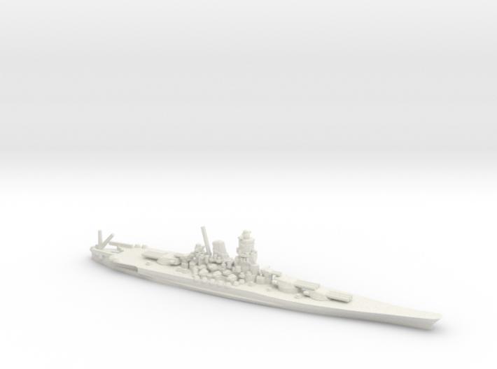 Japanese Yamato-Class Battleship 3d printed