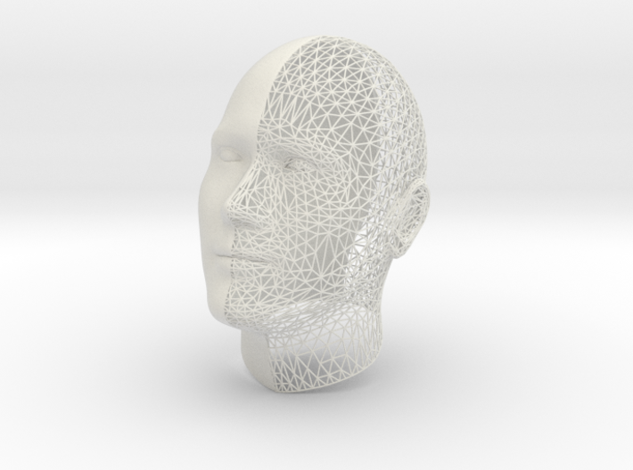 Wireframe Volteface XXL 3d printed