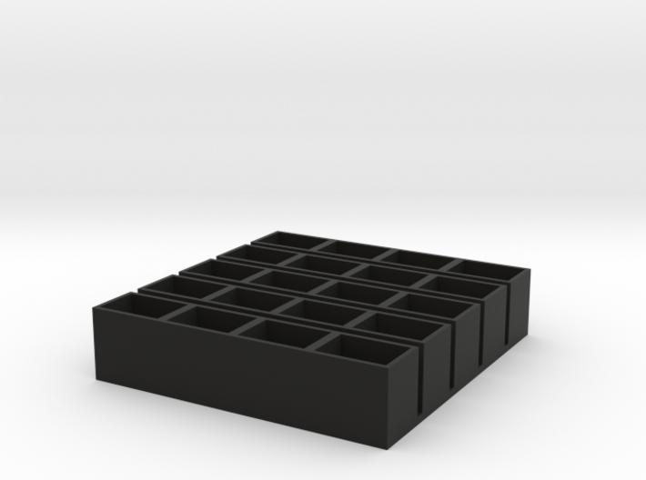 quad short 11x15x14 speaker box qty5 3d printed