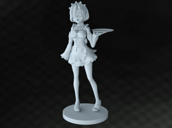 The Maid 265mm 3d printed
