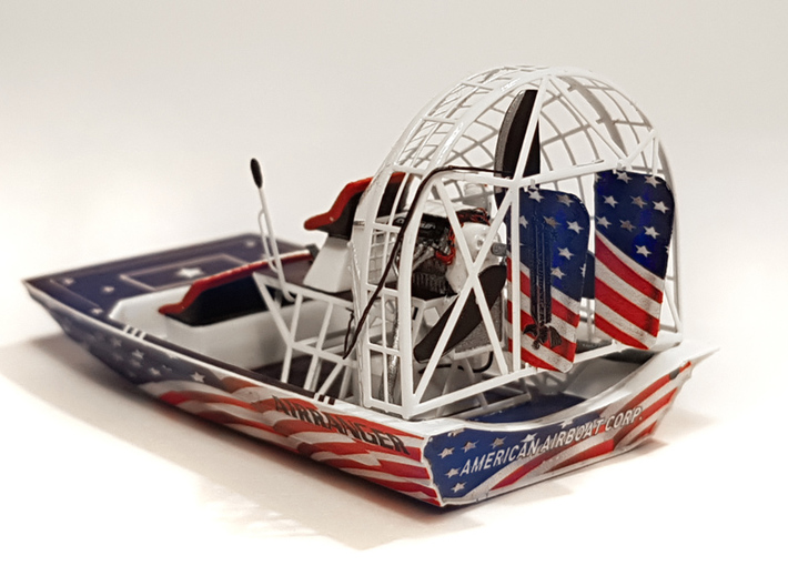 Airboat with cage in 1/87 - Part 1