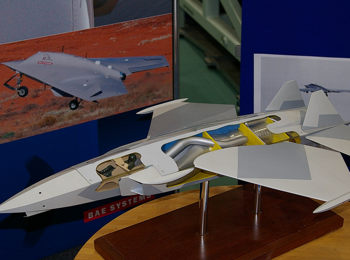 British Aerospace P.125 VSTOL Stealth Fighter 3d printed