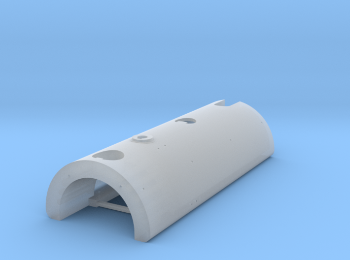 O Scale Austerity Tank Original Chimney [part 4A] 3d printed