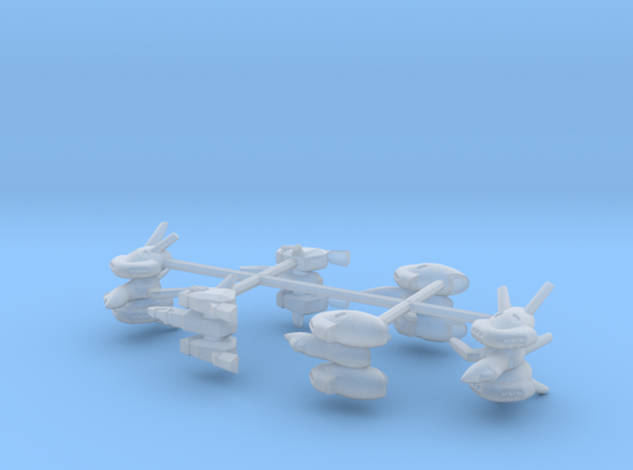 Fighter Group 1 3d printed