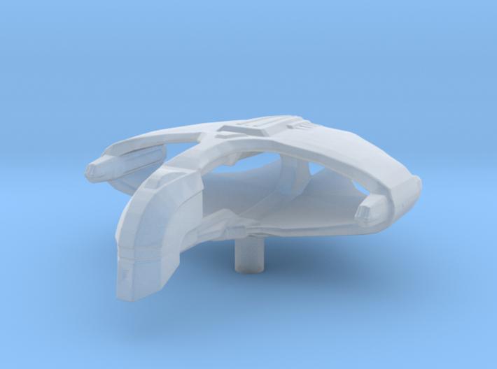 Romulan D'talla Class 1/10000 Attack Wing 3d printed