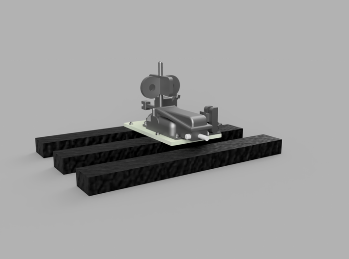 Hand-operated Switch With Positional Flag 1-87 2 P 3d printed