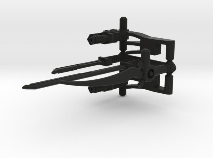 3mm RID Black Weapon Pack 3d printed