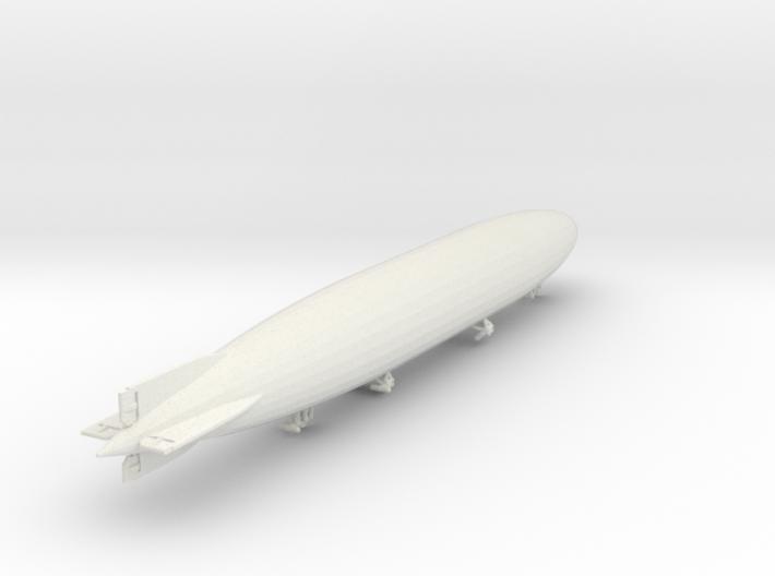 Zeppelin L70 1/1250 scale (SLS) 3d printed