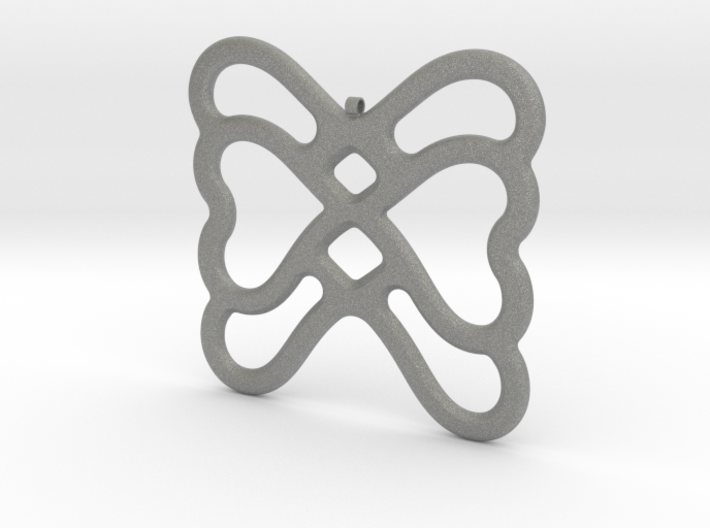 Butterfly Pendant / Necklace-22 3d printed