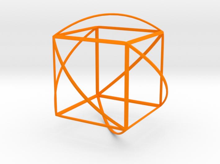 Walsh Cube 3d printed