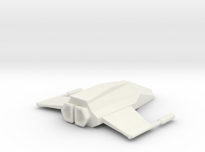 Spitfire spaceship 3d printed