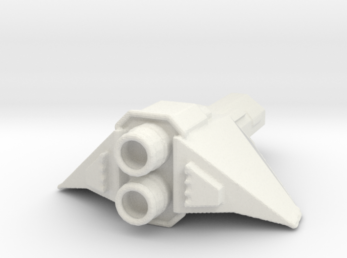 Destroyer space fighter 3d printed