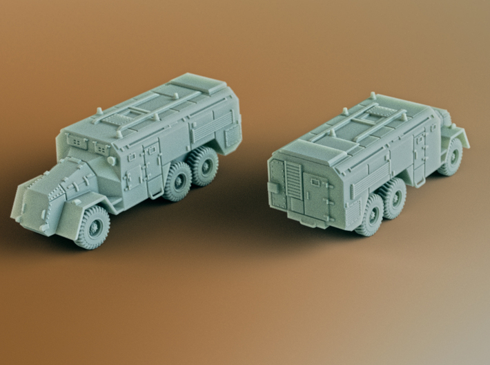 AEC Armoured Command Vehicle 6x6 Scale: 1:144 3d printed