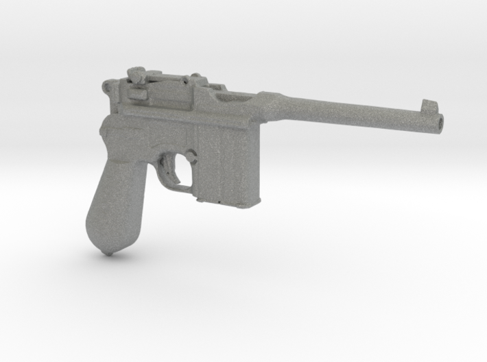 1/9 Scale Broomhandle Mauser 3d printed