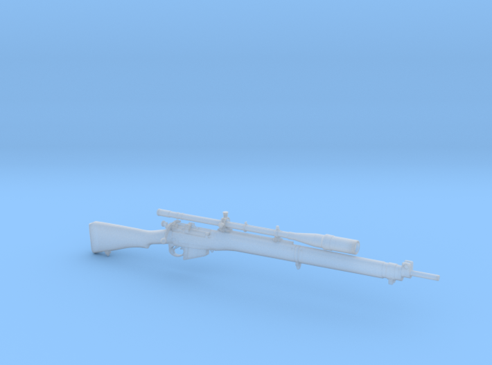 1/9 Scale Enfield Rifle 3d printed