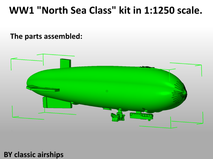 North Sea Class of WW1 3d printed Assembly Instructions p4 of 4