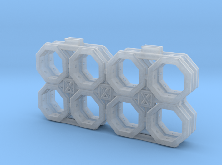 BYOS ADD ON SKELETON NANO CONTAINER OCTO 3d printed