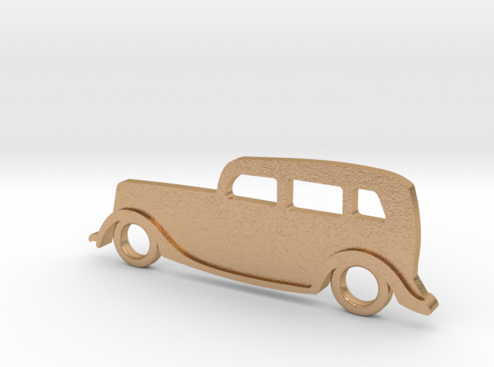 Classic Car Necklace-54 3d printed