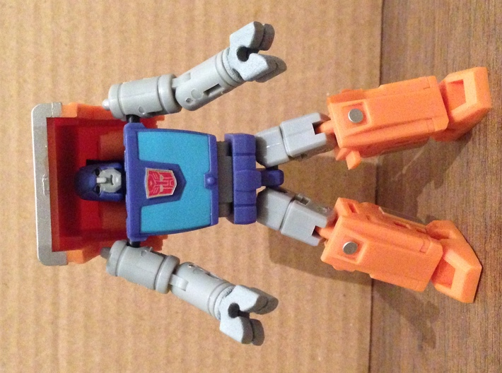Huffer Strongman Clamps 3d printed