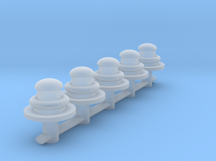 S Scale gas lamps 3d printed