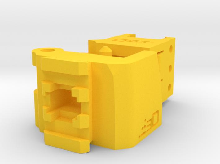 TeleScopix Folding Stock Adapter (Compact Kit) 3d printed