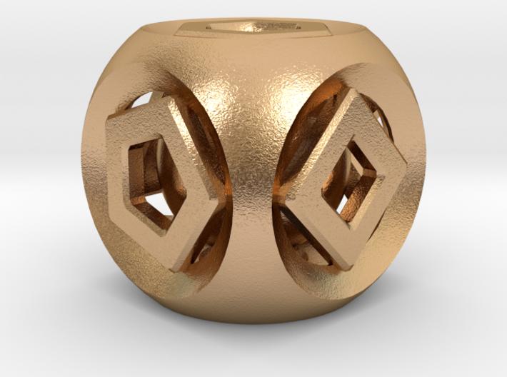 Geometric Inner Bearing Die 3d printed