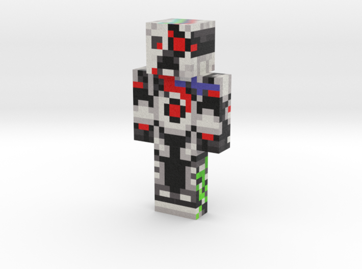 robot (1) | Minecraft toy 3d printed