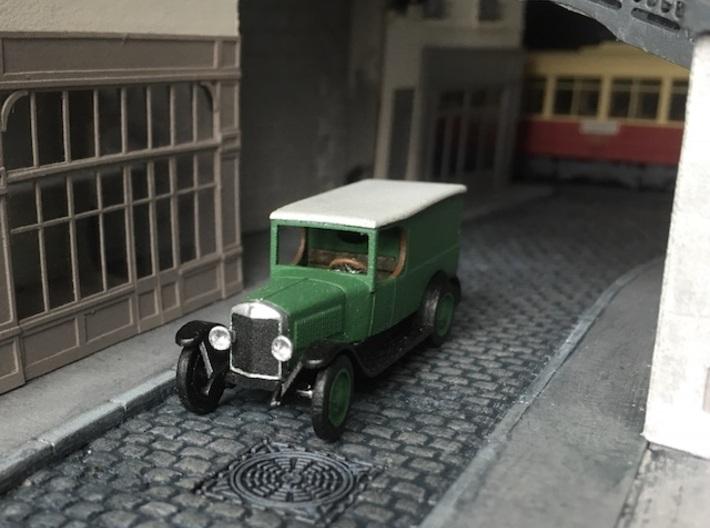1:87 Unic L2 van 1922 3d printed