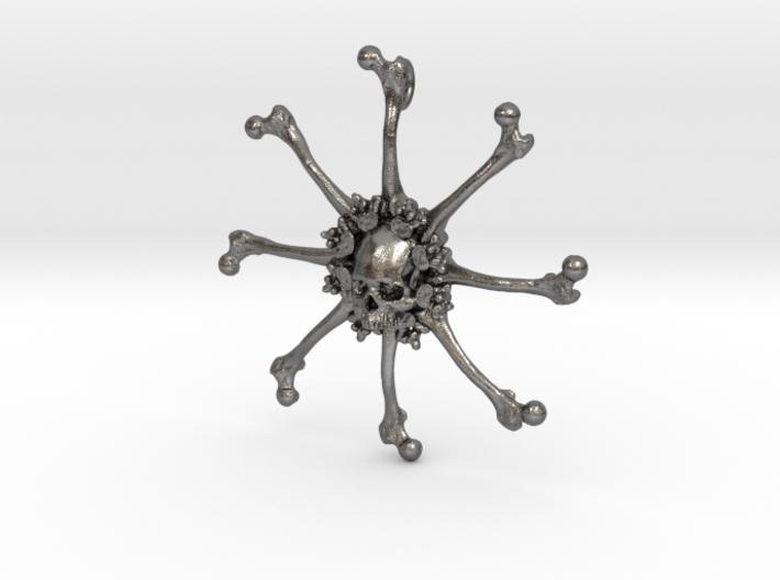 Vehmic Bone Pendant 3d printed